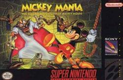 Mickey Mania: The Timeless Adventures of Mickey Mouse para Super Nintendo
