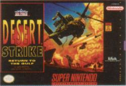 Desert Strike: Return To The Gulf para Super Nintendo