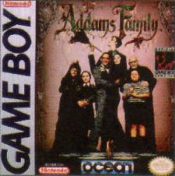 The Addams Family para Game Boy