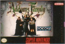 The Addams Family para Super Nintendo