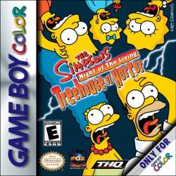 Simpsons: Night of the Living Treehouse of Horror para Game Boy Color