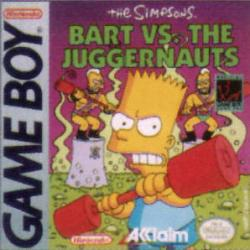 The Simpsons: Bart vs. The Juggernauts para Game Boy