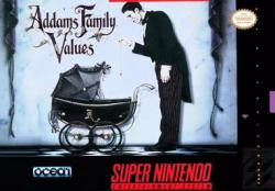 Addams Family Values para Super Nintendo