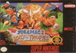 Joe & Mac 2: Lost in the Tropics para Super Nintendo