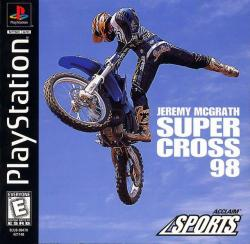 Jeremy McGrath Supercross 98 para PlayStation