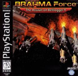 BRAHMA Force: The Assault on Beltlogger 9 para PlayStation