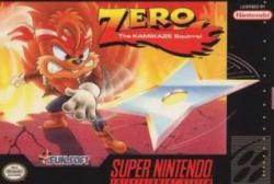 Zero: The Kamikaze Squirrel para Super Nintendo