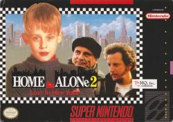 Home Alone 2: Lost in New York para Super Nintendo