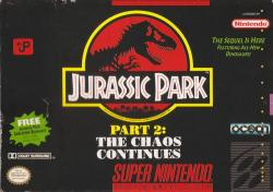 Jurassic Park Part 2: The Chaos Continues para Super Nintendo