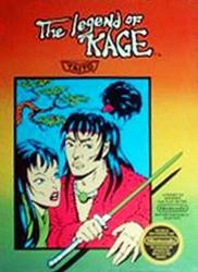 The Legend of Kage para NES