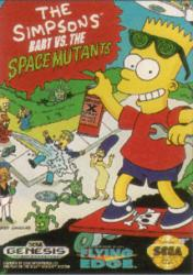 Bart vs. the Space Mutants para Mega Drive