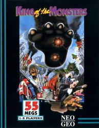 King of the Monsters para Neo Geo