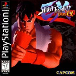 Street Fighter EX Plus Alpha para PlayStation