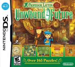 Professor Layton and the Unwound Future para Nintendo DS