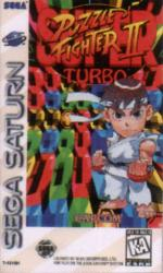 Super Puzzle Fighter II Turbo para Saturn