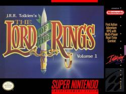 The Lord of the Rings Volume 1 para Super Nintendo