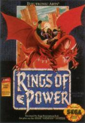 Rings of Power para Mega Drive