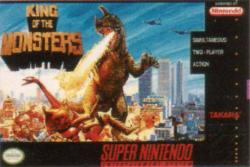 King of the Monsters para Super Nintendo