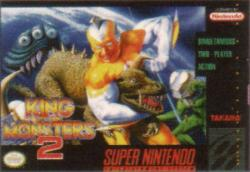 King of the Monsters 2 para Super Nintendo