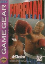 Foreman For Real para GameGear