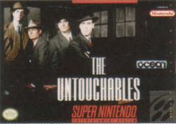 The Untouchables para Super Nintendo