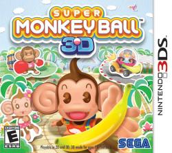 Super Monkey Ball 3D para Nintendo 3DS