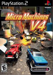 Micro Machines V4 para PlayStation 2