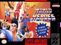 World Heroes para Super Nintendo