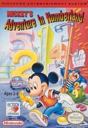 Mickey's Adventure in Numberland para NES
