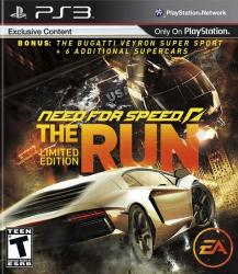 Need for Speed: The Run para PlayStation 3