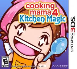Cooking Mama 4: Kitchen Magic para Nintendo 3DS