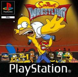 The Simpsons Wrestling para PlayStation