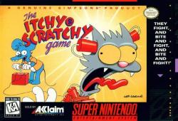 The Itchy & Scratchy Game para Super Nintendo