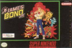 James Bond Jr. para Super Nintendo