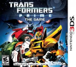 Transformers: Prime – The Game para Nintendo 3DS