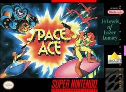 Space Ace para Super Nintendo