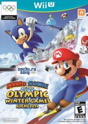 Mario & Sonic at the Sochi 2014 Olympic Winter Games para Wii U