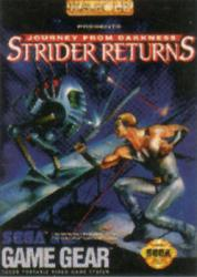 Strider Returns: Journey From Darkness para GameGear