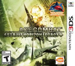 Ace Combat: Assault Horizon Legacy+ para Nintendo 3DS