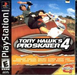Tony Hawk's Pro Skater 4 para PlayStation