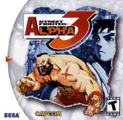 Street Fighter Alpha 3 para Dreamcast
