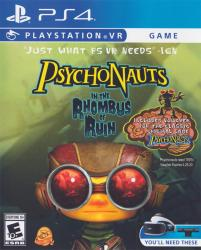 Psychonauts in The Rhombus Of Ruin para PlayStation 4