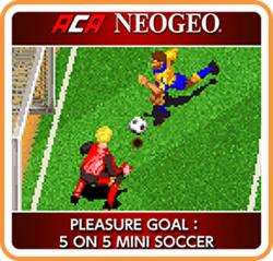ACA NeoGeo - Pleasure Goal: 5 on 5 Mini Soccer para Nintendo Switch