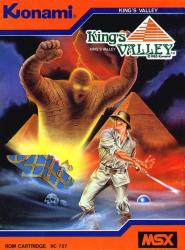 King's Valley para MSX