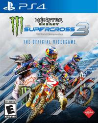 Monster Energy Supercross - The Official Videogame 3 para PlayStation 4