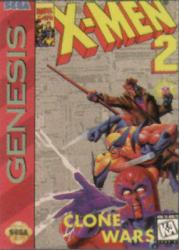 X-Men 2: The Clone Wars para Mega Drive